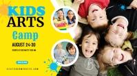 Kids Art Camp YouTube Thumbnail template