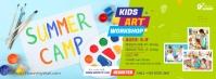 Kids Art Workshop Facebook 封面图片 template
