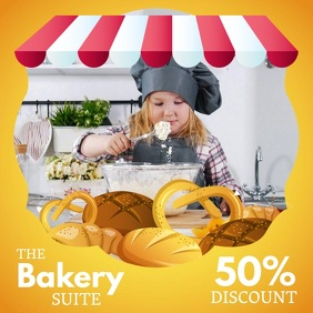 Kids Bake Sale Event Instagram Video Template