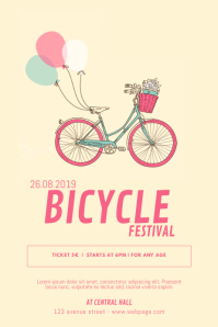 Kids Bicycle Flyer Template