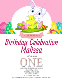 Kids Birthday Party Invitation Template