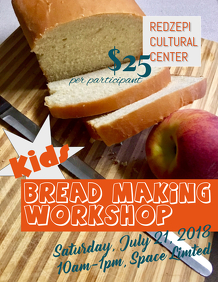 Kids Bread Making Workshop