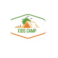 Kids Camp Logo Logotipo template