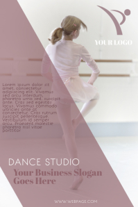 Kids Children Ballet Flyer Template
