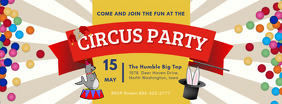 Kids Circus Party Facebook Cover