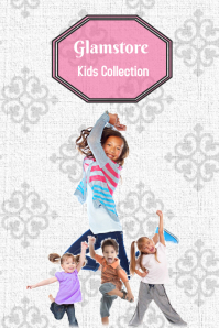 Kids Collection Tumblr Graphic template
