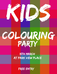 KIDS COLOR PARTY