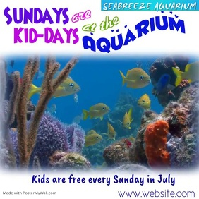 Kids Day at the Aquarium Video