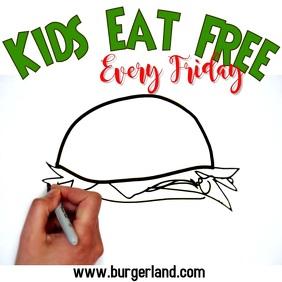 Kids Eat Free Video Template