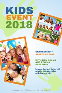 Kids Event Flyer Templae