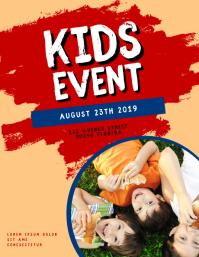 Kids Event Flyer Template