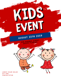 Kids Event Flyer Template