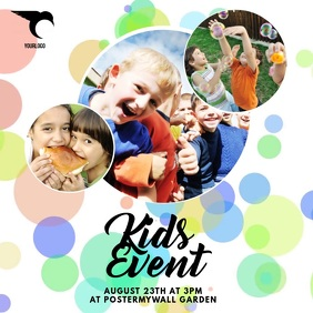 kids Event Video ad template
