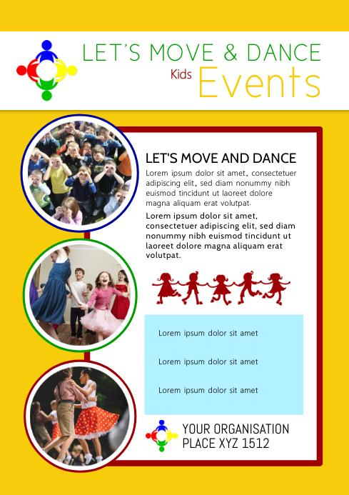 kids events Dance After School Workshop Child
