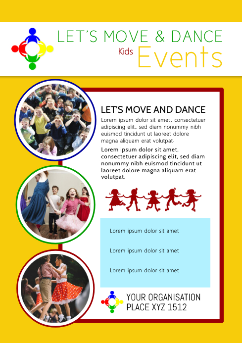 kids events Dance After School Workshop Child