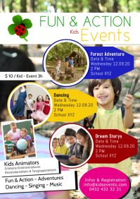 Kids Events Fun & Action Play Dance Activity