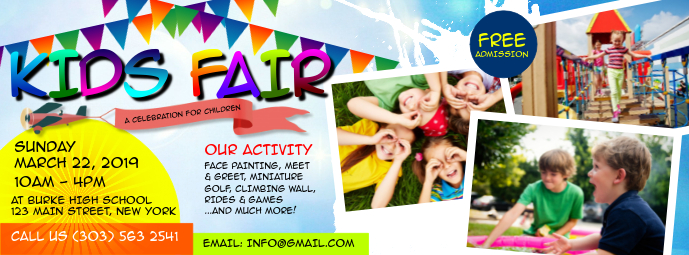 Kids Fair Facebook Cover