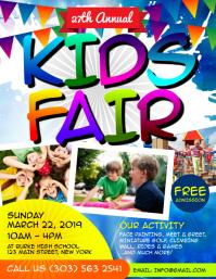 Kids Fair Flyer
