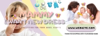 KIDS fashion facebook cover template