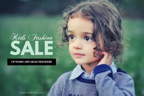 Kids Fashion Sale Flyer Template