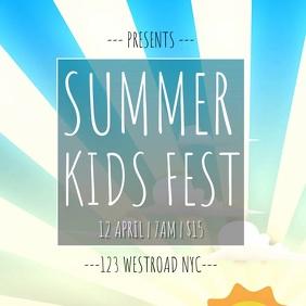 KIDS FEST FESTIVAL AD