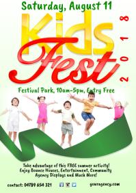Kids Festival Poster Template