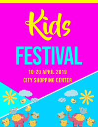 kids festival template