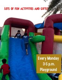 kids fun at playground area