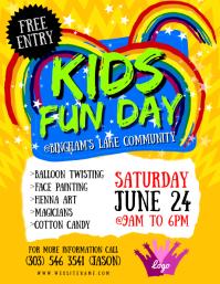 Kids Fun Day Flyer
