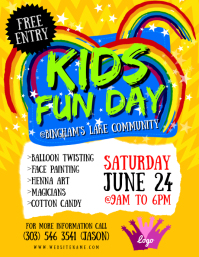 Kids Fun Day Flyer