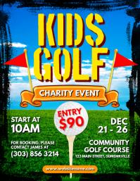Kids Golf Flyer