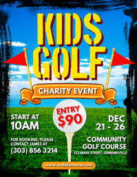 Kids Golf Flyer