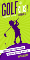 KIDS GOLF ROLL-UP BANNER