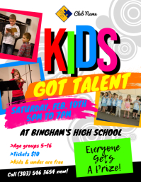 Kids Got Talent Flyer