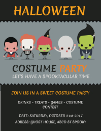 15 800 customizable design templates for costume party postermywall