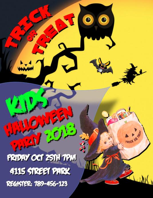 Kids Halloween Party 2018