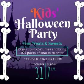 Kids Halloween Party Video