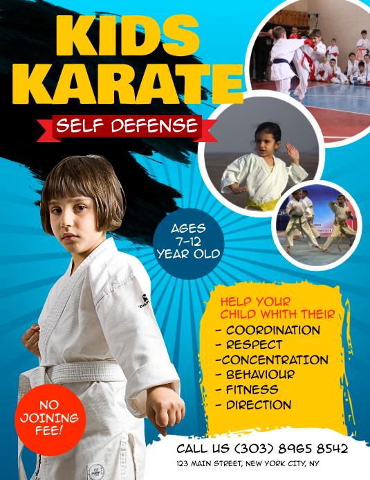 Kids Karate Flyer