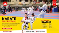 Kids Karate Lesson Video Ad template