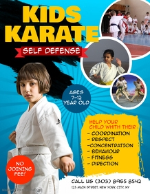 Kids Karate Flyer