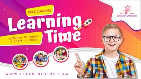 Kids Learning Channel YouTube Banner