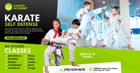 Kids Martial Arts Lessons Ad Ibinahaging Larawan sa Facebook template