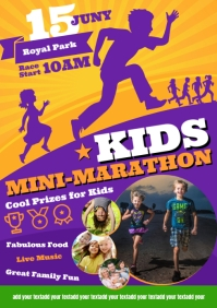 KIDS MINI-MARATHON POSTER