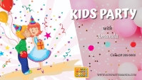 kids party1 Business Card template