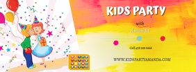 kids party1 fb Facebook-coverfoto template