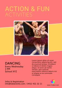 Kids Play Activities action fun sport Dancing