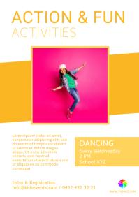 Kids Play Workshops action fun sport Dancing
