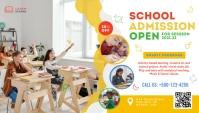 Kids School Admission Blog Header Template Blogkop