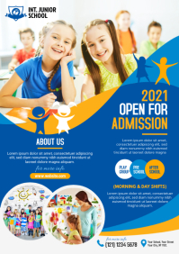 Kids School Admission Flyer