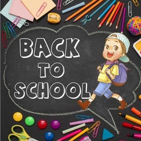 Kids School Publicación de Instagram template